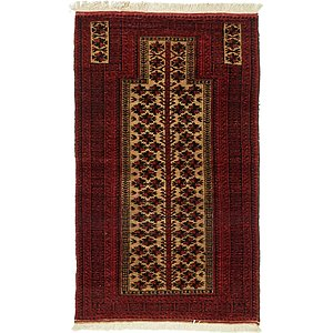 Unique Loom 2' 11 x 4' 11 Balouch Persian Rug