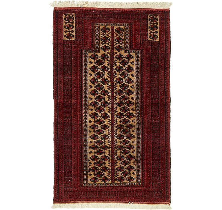 2' 11 x 4' 11 Balouch Persian Rug