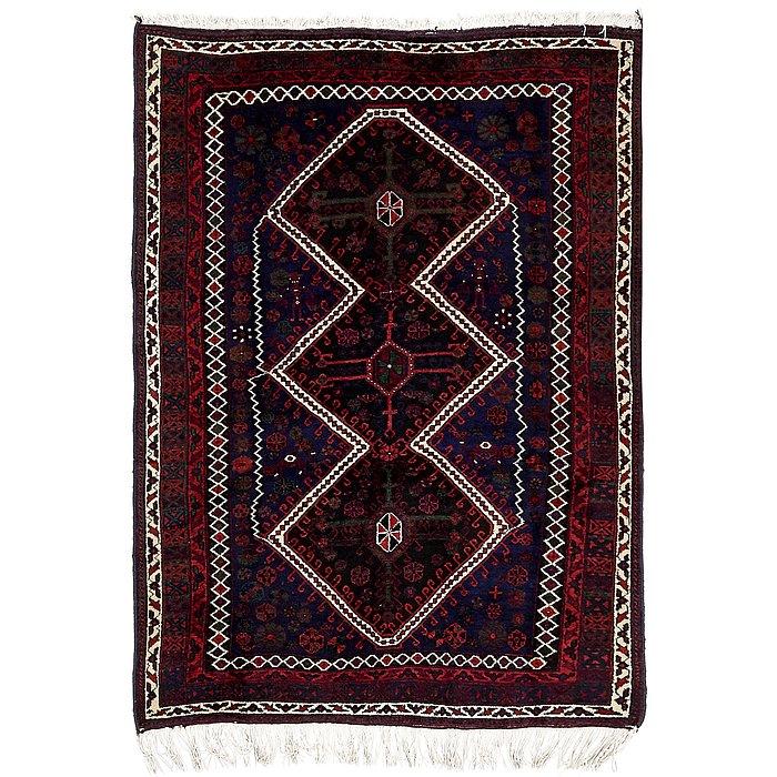 4' 6 x 6' 3 Kelardasht Persian Rug