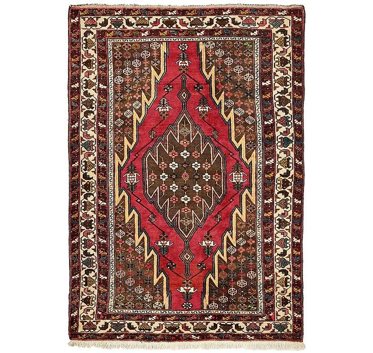 135cm x 195cm Mazlaghan Persian Rug