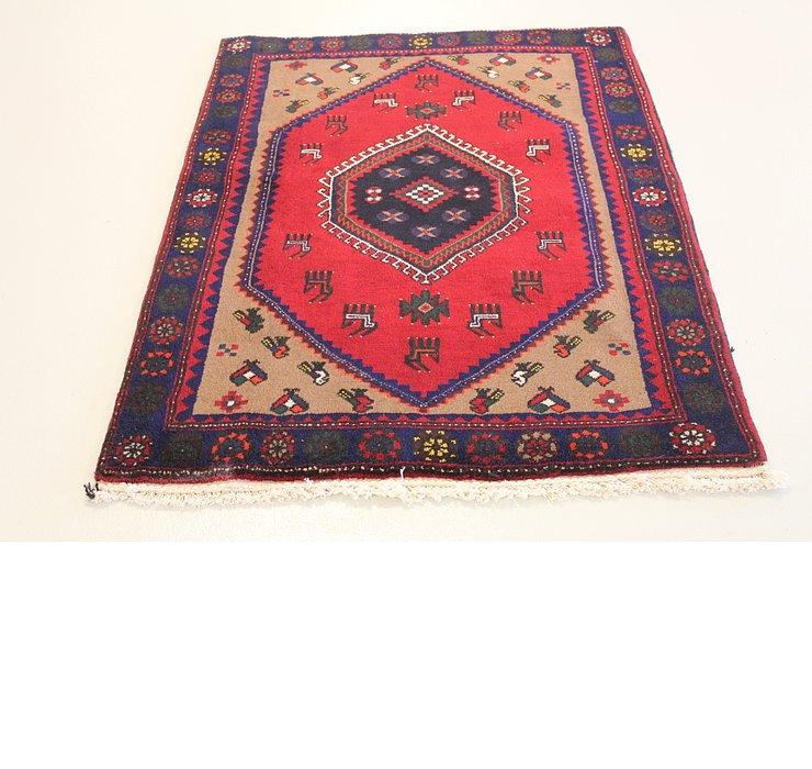 3' 9 x 4' 11 Kelardasht Persian Rug