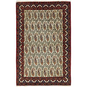 HandKnotted 3' 8 x 5' 7 Mood Persian Rug