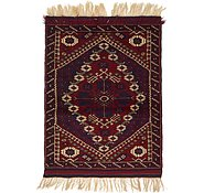 Link to 3' 5 x 4' 7 Balouch Persian Rug