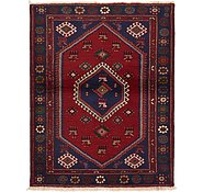 Link to 3' 9 x 4' 10 Hamedan Persian Rug