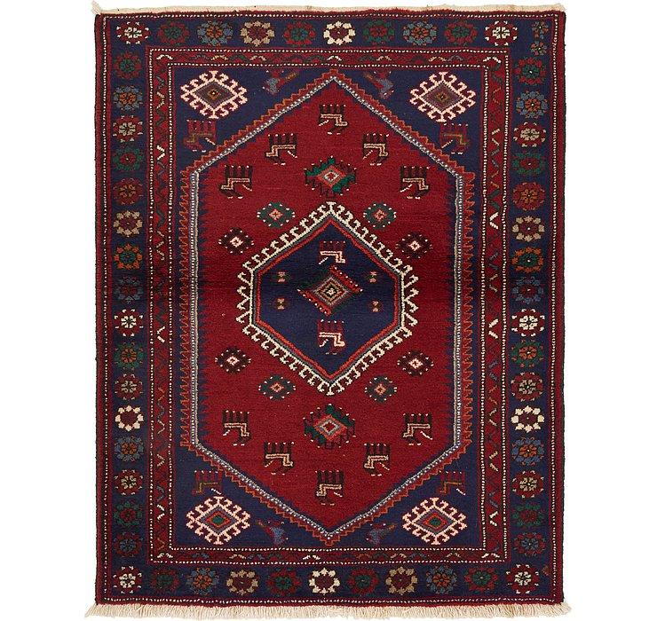 3' 9 x 4' 10 Hamedan Persian Rug