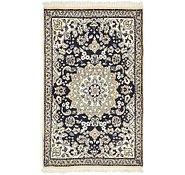 Link to 2' 10 x 4' 5 Nain Persian Rug