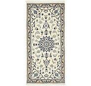 Link to 2' 2 x 4' 7 Nain Persian Rug