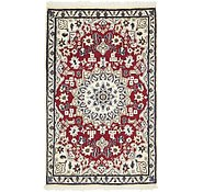 Link to 2' 10 x 4' 7 Nain Persian Rug