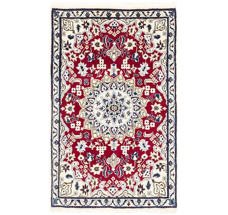 2' 10 x 4' 7 Nain Persian Rug