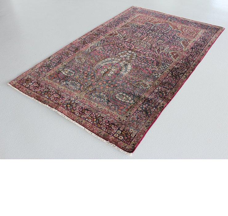 4' 7 x 7' 5 Kerman Persian Rug
