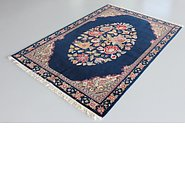 Link to 4' 7 x 6' 11 Qom Persian Rug