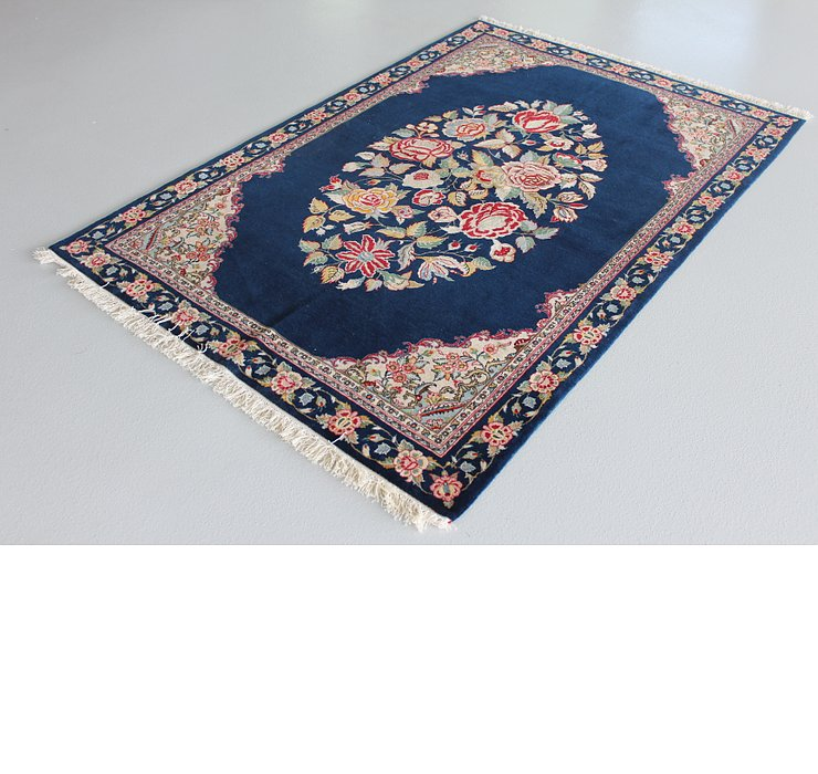 4' 7 x 6' 11 Qom Persian Rug
