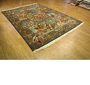 Link to 193cm x 270cm Tabriz Persian Rug