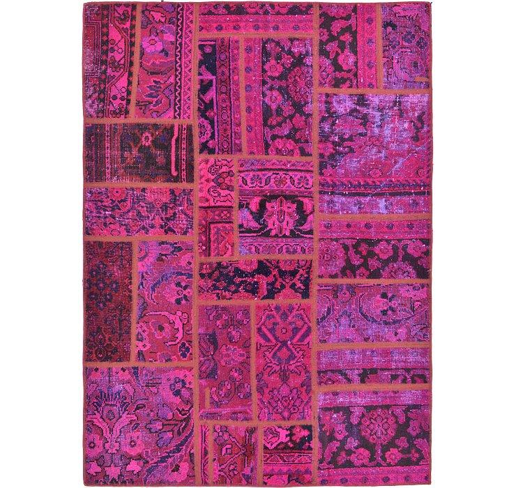 137cm x 190cm Ultra Vintage Persian Rug