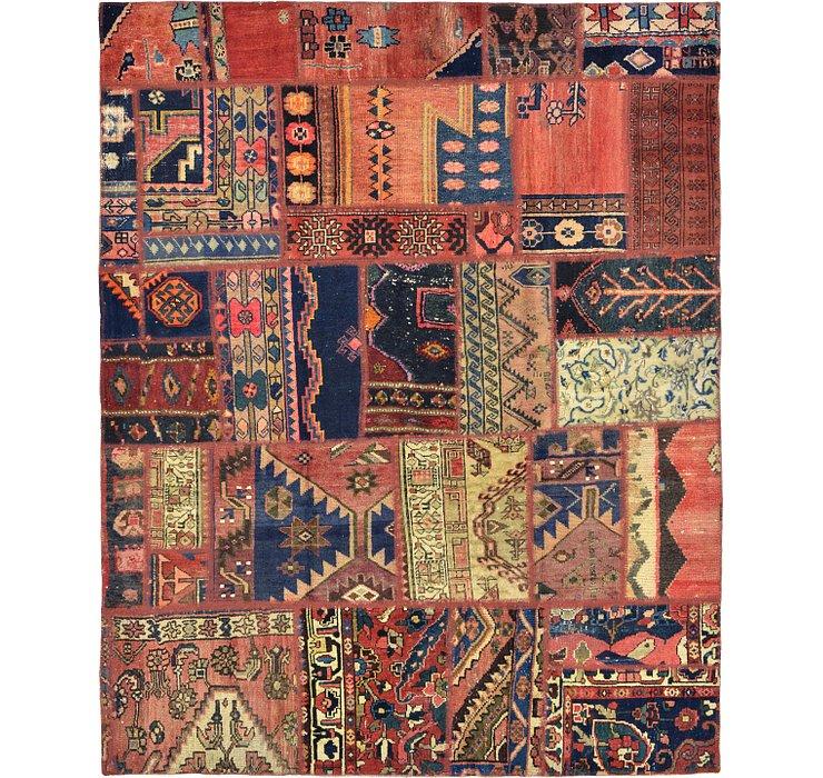165cm x 210cm Ultra Vintage Persian Rug