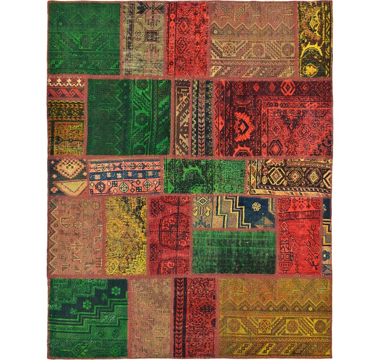 165cm x 208cm Ultra Vintage Persian Rug