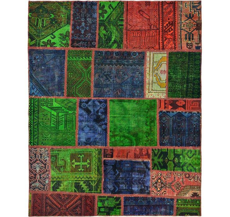 163cm x 205cm Ultra Vintage Persian Rug