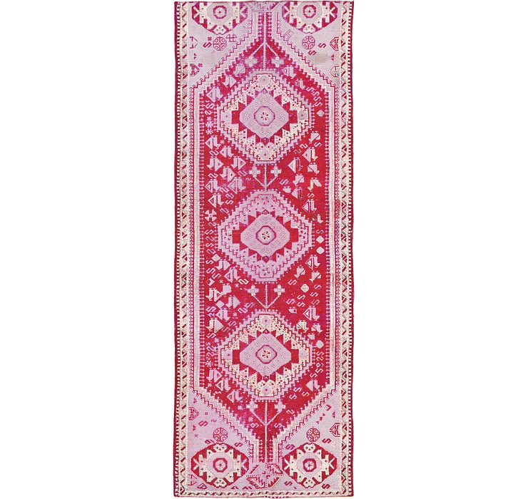 3' 11 x 11' 5 Shiraz Persian Runner Rug