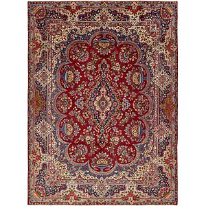 HandKnotted 9' 7 x 13' 4 Yazd Persian Rug