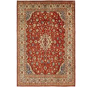 Link to 9' 7 x 14' Sarough Persian Rug