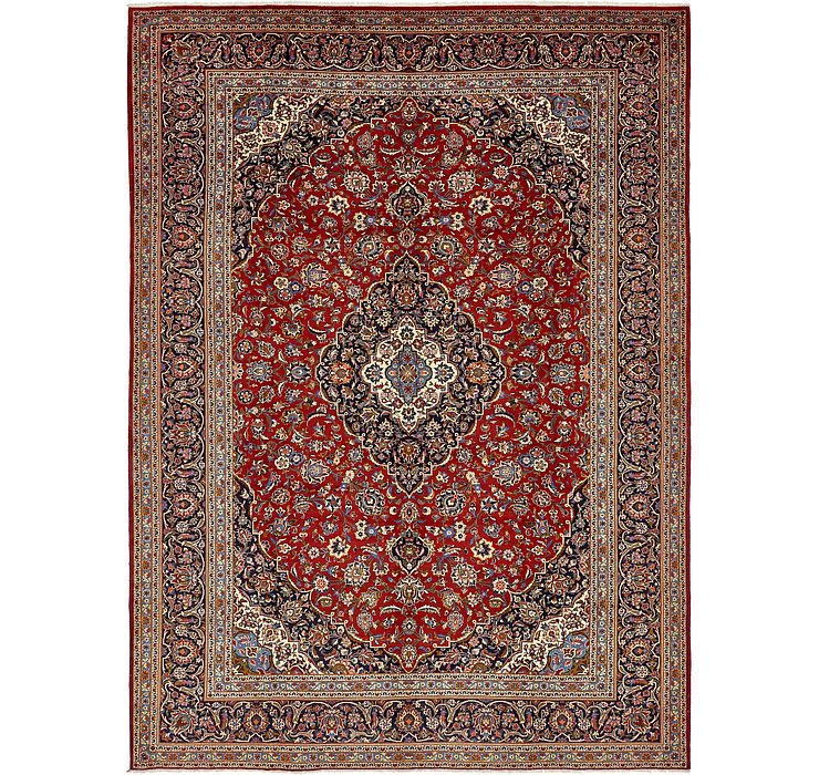 HandKnotted 10' 2 x 14' Kashan Persian Rug