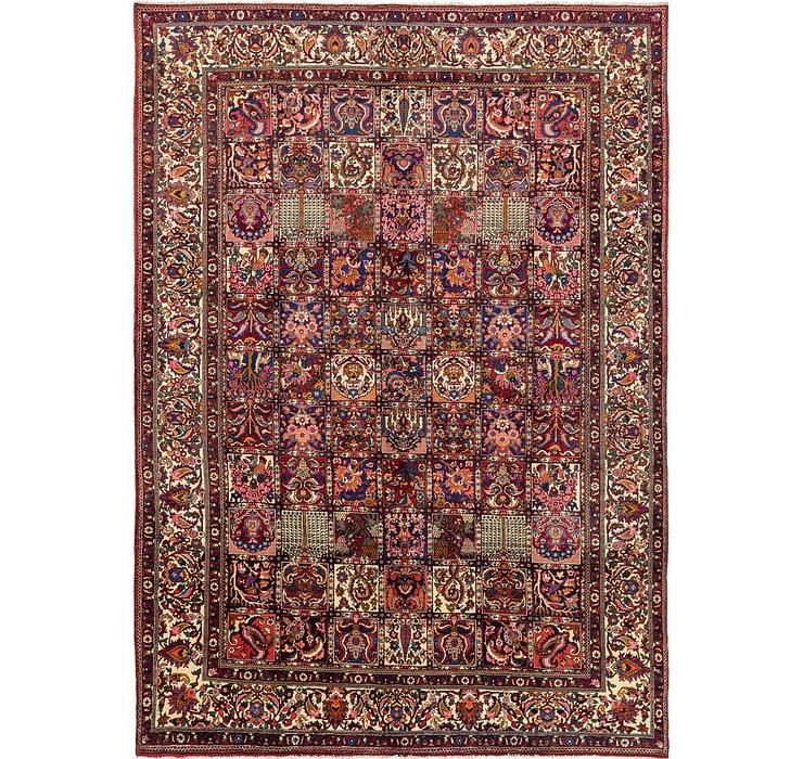 10' x 14' Bakhtiari Persian Rug