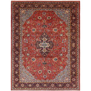 Unique Loom 9' 10 x 13' Sarough Persian Rug