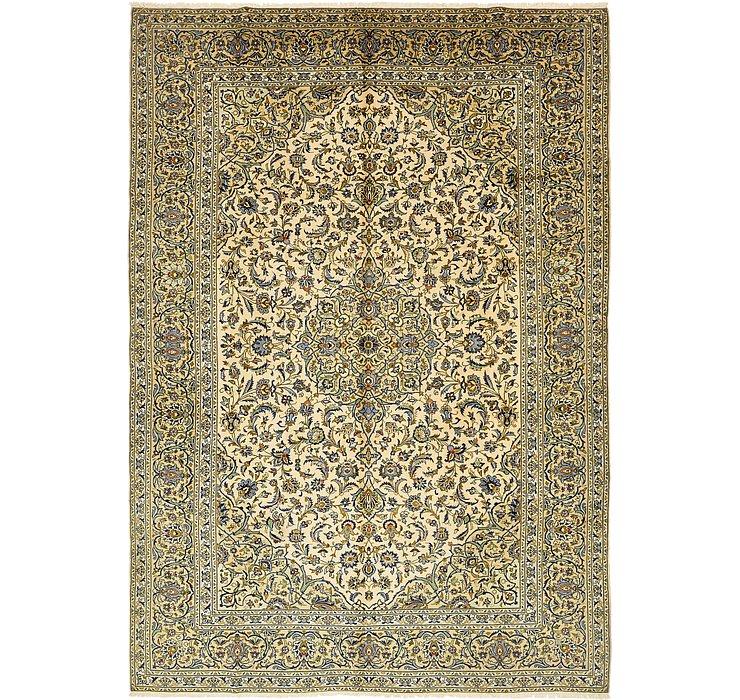 9' 7 x 13' 9 Kashan Persian Rug