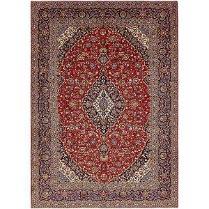 10' 2 x 14' 4 Kashan Persian Rug