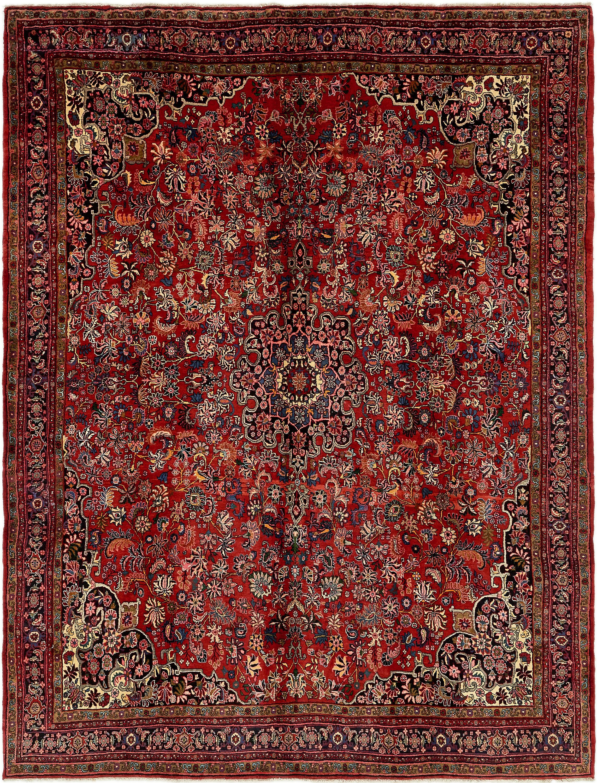 Red 9 X 11 10 Bidjar Persian Rug Handknotted Com