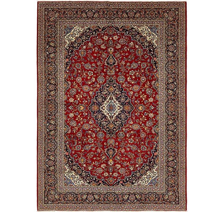 9' x 12' 10 Kashan Persian Rug
