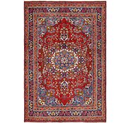 Link to 6' 6 x 9' 6 Mashad Persian Rug