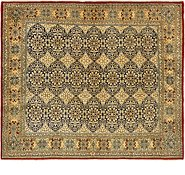 Link to 8' 2 x 9' 5 Kerman Persian Square Rug
