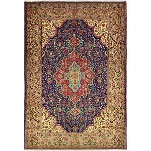 HandKnotted 6' 10 x 10' Tabriz Persian Rug