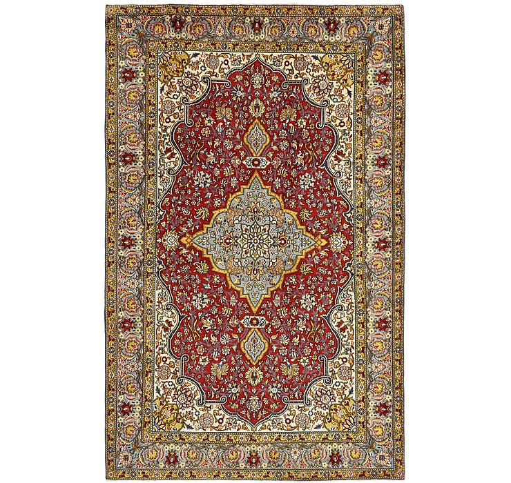 6' 8 x 10' 8 Shahreza Persian Rug