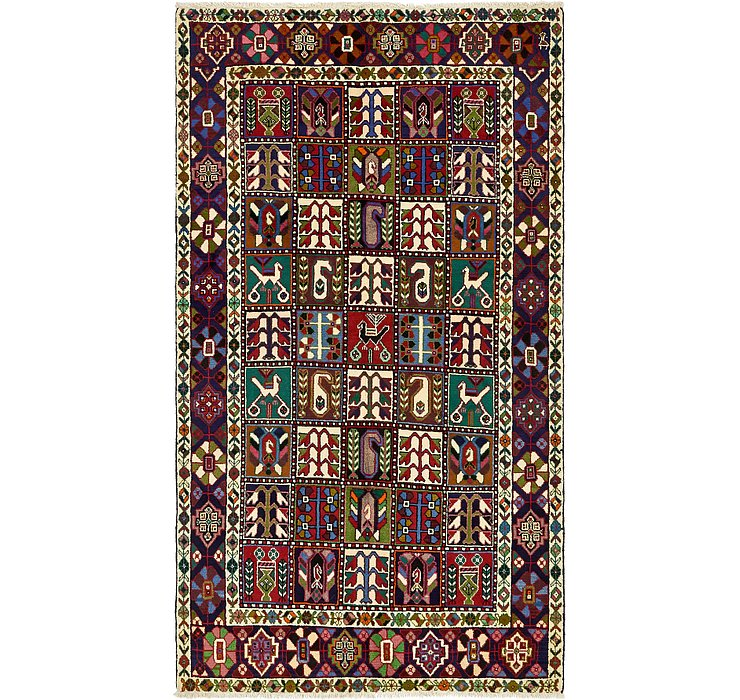5' 4 x 9' 8 Bakhtiar Persian Rug