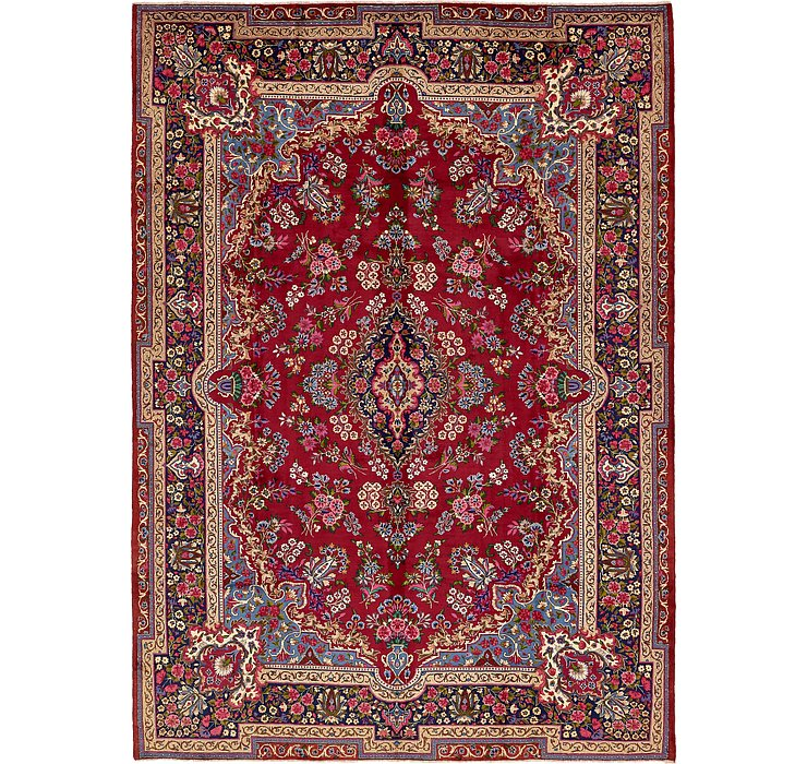 HandKnotted 10' x 13' 10 Yazd Persian Rug