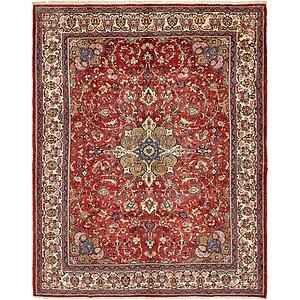 10' 2 x 12' 7 Meshkabad Persian Rug
