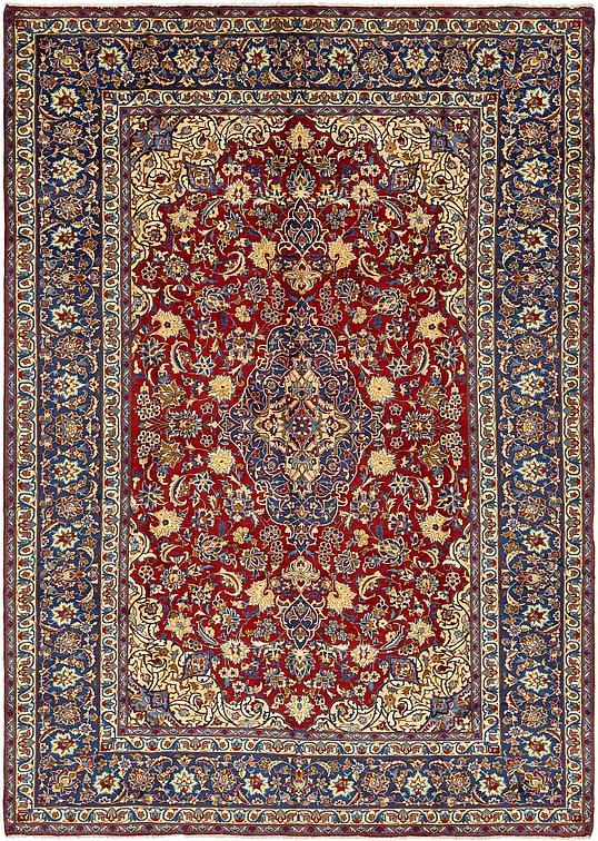 Red 9 X 12 8 Isfahan Persian Rug Persian Rugs Esalerugs