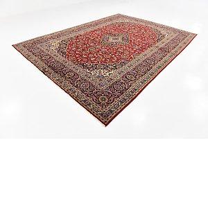 275cm x 375cm Kashan Persian Rug