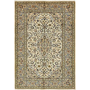 6' 6 x 9' 6 Kashan Persian Rug