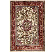 Link to 6' 9 x 9' 9 Mashad Persian Rug