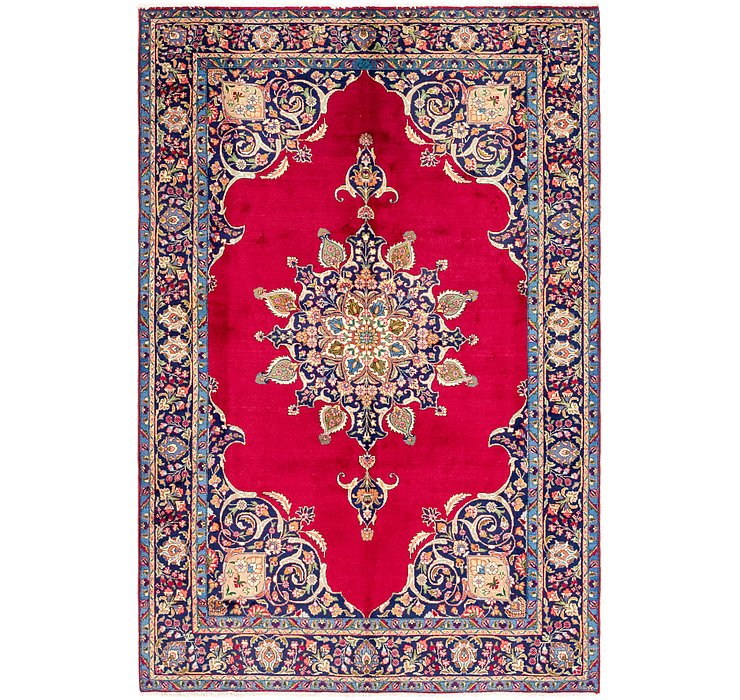 7' 3 x 11' Tabriz Persian Rug