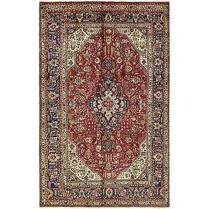 6' x 9' 4 Tabriz Persian Rug