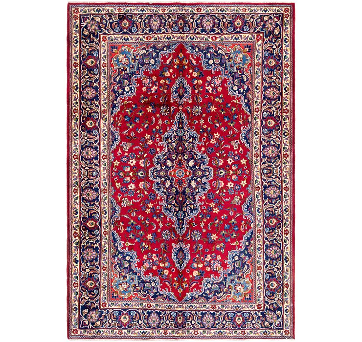 6' 6 x 9' 8 Mashad Persian Rug
