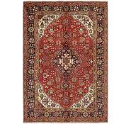 Link to Unique Loom 6' 8 x 9' 8 Tabriz Persian Rug