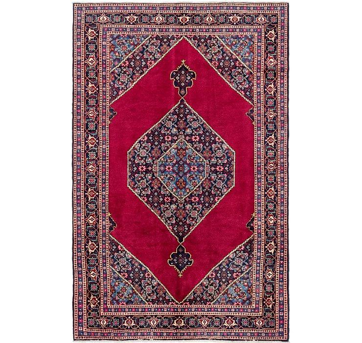 6' 4 x 10' 1 Tabriz Persian Rug