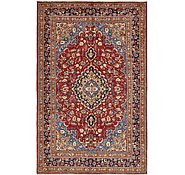Link to 6' 3 x 10' Mashad Persian Rug