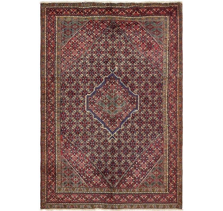 198cm x 282cm Tabriz Persian Rug