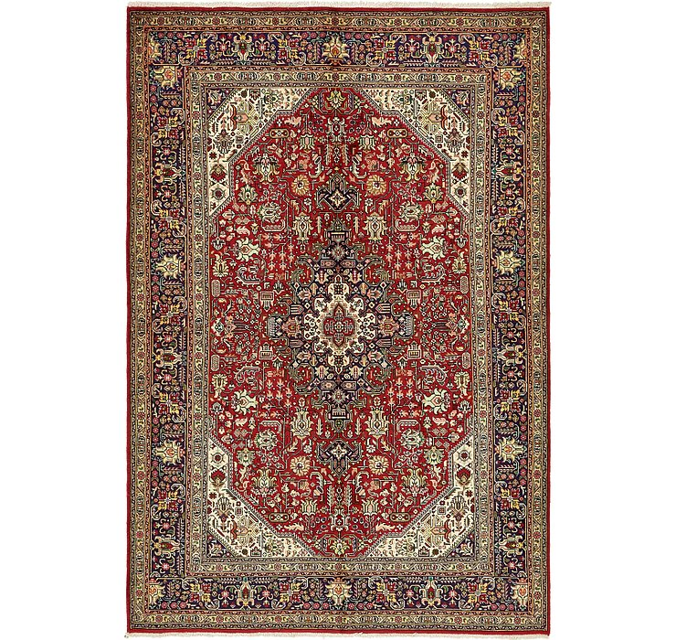 6' 8 x 10' Tabriz Persian Rug